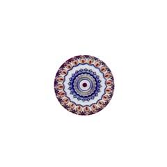 Romantic Dreams Mandala 1  Mini Buttons