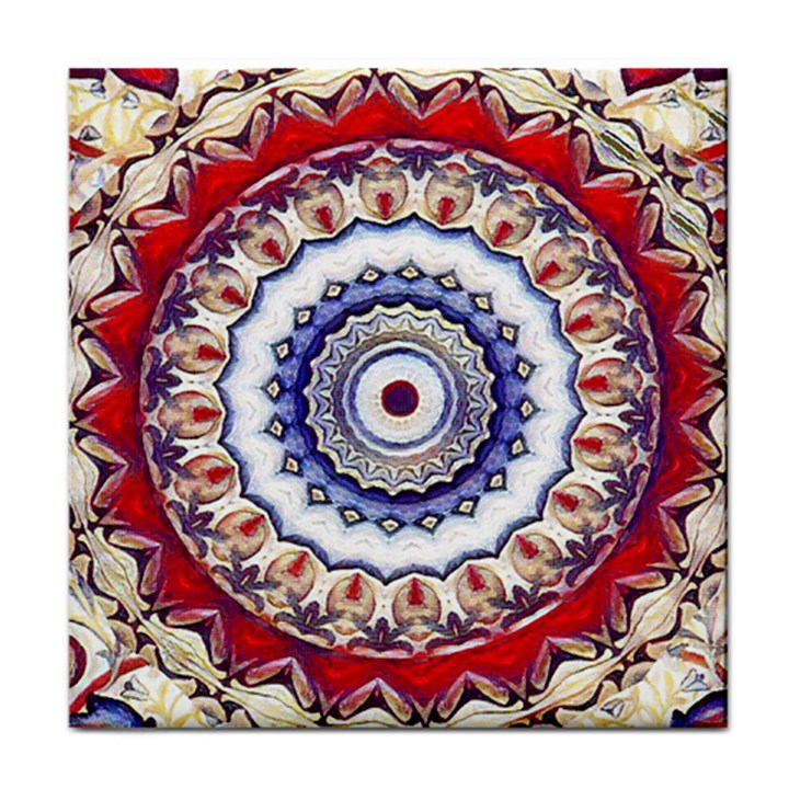 Romantic Dreams Mandala Face Towel