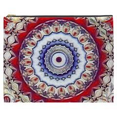 Romantic Dreams Mandala Cosmetic Bag (xxxl)