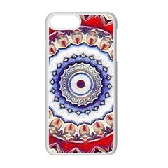 Romantic Dreams Mandala Apple Iphone 7 Plus White Seamless Case