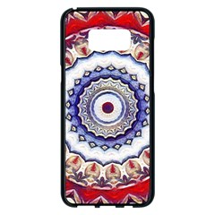 Romantic Dreams Mandala Samsung Galaxy S8 Plus Black Seamless Case