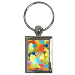 Summer Feeling Splash Key Chains (rectangle)