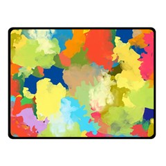 Summer Feeling Splash Fleece Blanket (small)