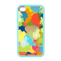 Summer Feeling Splash Apple Iphone 4 Case (color)