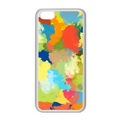 Summer Feeling Splash Apple Iphone 5c Seamless Case (white)