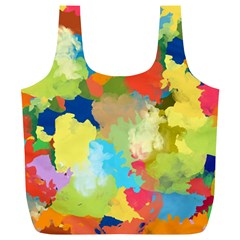 Summer Feeling Splash Full Print Recycle Bags (l)