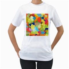 Summer Feeling Splash Women s T Shirt (white)