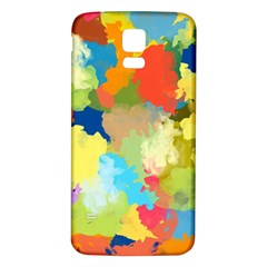 Summer Feeling Splash Samsung Galaxy S5 Back Case (white)