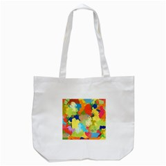 Summer Feeling Splash Tote Bag (white)
