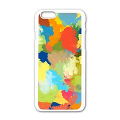 Summer Feeling Splash Apple Iphone 6/6s White Enamel Case