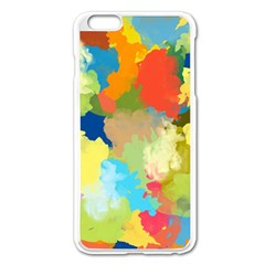 Summer Feeling Splash Apple Iphone 6 Plus/6s Plus Enamel White Case
