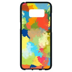 Summer Feeling Splash Samsung Galaxy S8 Black Seamless Case