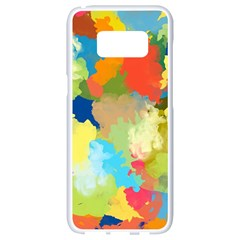 Summer Feeling Splash Samsung Galaxy S8 White Seamless Case