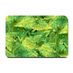Green Springtime Leafs Small Doormat