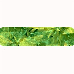 Green Springtime Leafs Large Bar Mats