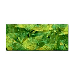 Green Springtime Leafs Cosmetic Storage Cases