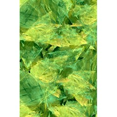 Green Springtime Leafs 5 5  X 8 5  Notebooks
