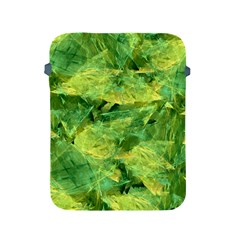 Green Springtime Leafs Apple Ipad 2/3/4 Protective Soft Cases