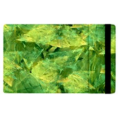 Green Springtime Leafs Apple Ipad Pro 12 9   Flip Case
