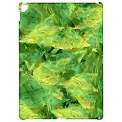 Green Springtime Leafs Apple Ipad Pro 12 9   Hardshell Case