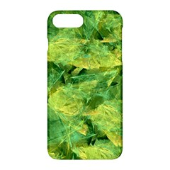 Green Springtime Leafs Apple Iphone 7 Plus Hardshell Case
