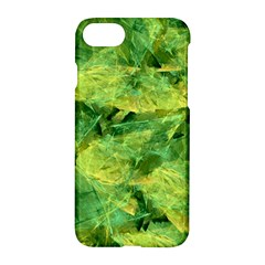 Green Springtime Leafs Apple Iphone 7 Hardshell Case