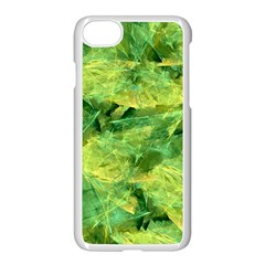 Green Springtime Leafs Apple Iphone 7 Seamless Case (white)