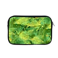 Green Springtime Leafs Apple Macbook Pro 13  Zipper Case