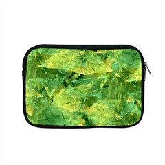Green Springtime Leafs Apple Macbook Pro 15  Zipper Case