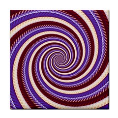 Woven Spiral Tile Coasters
