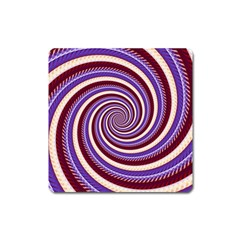 Woven Spiral Square Magnet