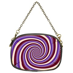 Woven Spiral Chain Purses (one Side)