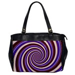 Woven Spiral Office Handbags Front