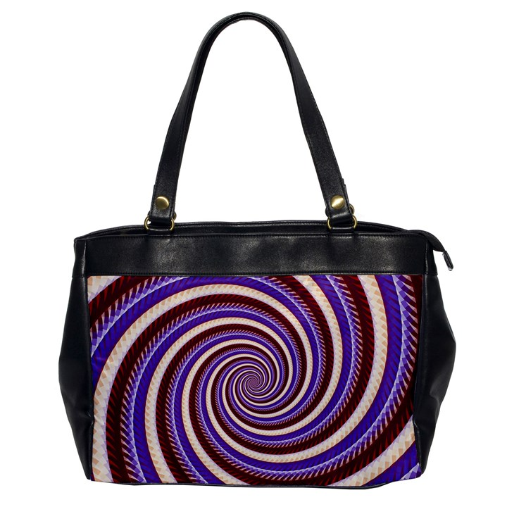 Woven Spiral Office Handbags
