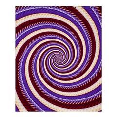 Woven Spiral Shower Curtain 60  X 72  (medium)