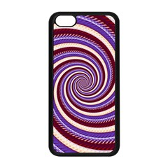 Woven Spiral Apple Iphone 5c Seamless Case (black)