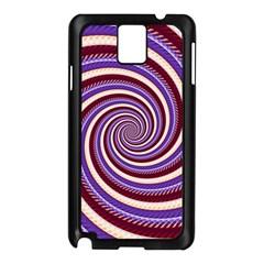 Woven Spiral Samsung Galaxy Note 3 N9005 Case (black)