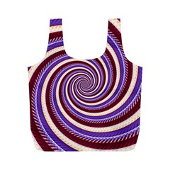 Woven Spiral Full Print Recycle Bags (m)