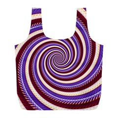Woven Spiral Full Print Recycle Bags (l)