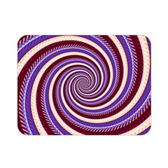 Woven Spiral Double Sided Flano Blanket (mini)