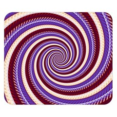 Woven Spiral Double Sided Flano Blanket (small)