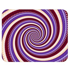 Woven Spiral Double Sided Flano Blanket (medium)