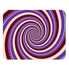Woven Spiral Double Sided Flano Blanket (large)