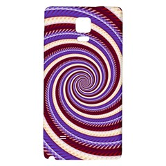 Woven Spiral Galaxy Note 4 Back Case