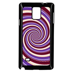 Woven Spiral Samsung Galaxy Note 4 Case (black)