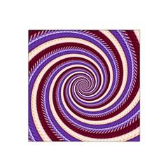 Woven Spiral Satin Bandana Scarf