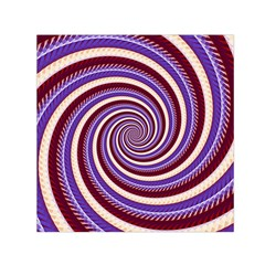 Woven Spiral Small Satin Scarf (square)