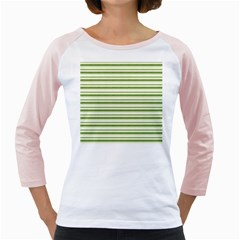 Spring Stripes Girly Raglans