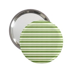 Spring Stripes 2 25  Handbag Mirrors