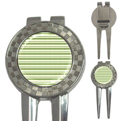 Spring Stripes 3 In 1 Golf Divots